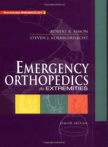 9780838522103: Emergency Orthopaedics: The Extremities