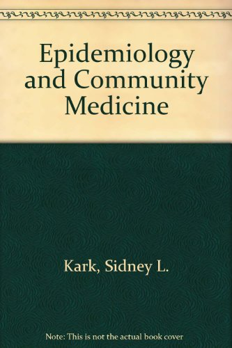 9780838522202: Epidemiology and Community Medicine