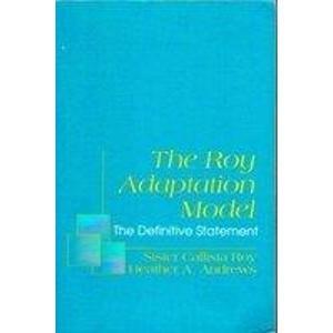 9780838522721: Roy Adaptation Model (Nursing)