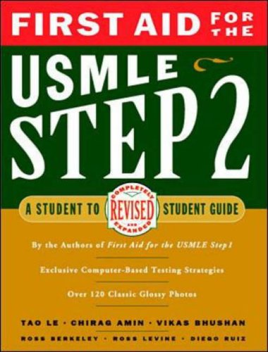 9780838526040: First Aid for the USMLE Step 2: A Student-to-student Guide