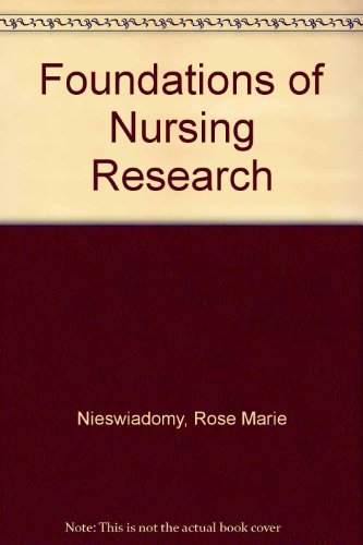 9780838526927: Foundations of Nursing Research
