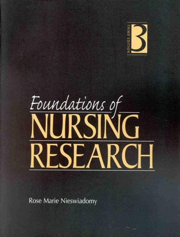 9780838526965: Foundations of Nursing Research
