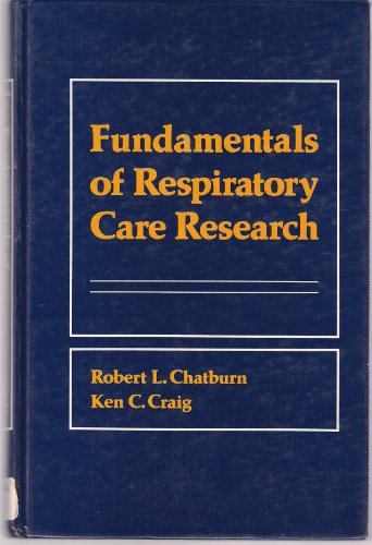 9780838528051: Fundamentals of Respiratory Care Research