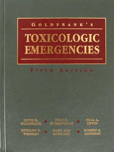 9780838531464: Goldfrank's Toxicologic Emergencies
