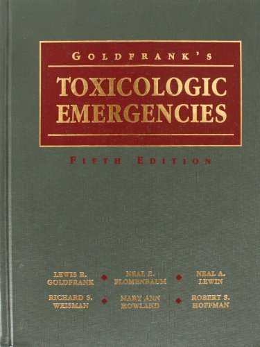 9780838531464: Goldfrank's Toxicologic Emergencies