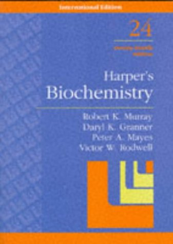 Harper's Biochemistry (Lange Medical Books) (0838536123) by Robert K. Murray,etc., Daryl K. Granner, Peter A. Mayes, Victor W. Rodwell