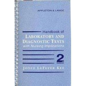 9780838536186: Handbook of Laboratory and Diagnostic Tests With Nursing Implications
