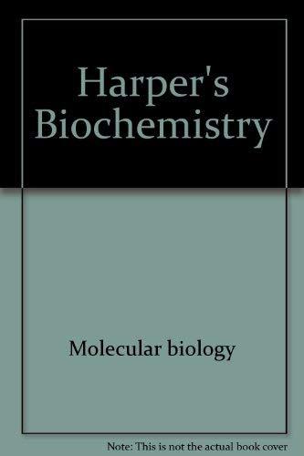 Harper's Biochemistry: Murray, R K et al