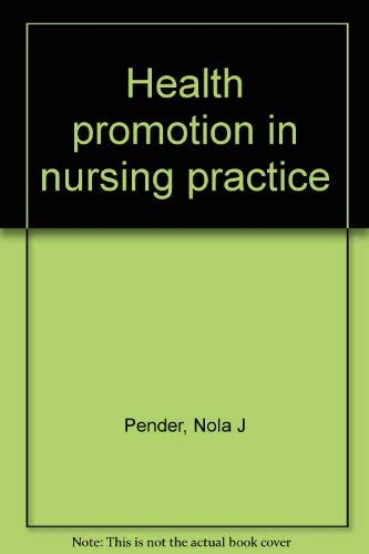 9780838536681: Health promotion in nursing practice