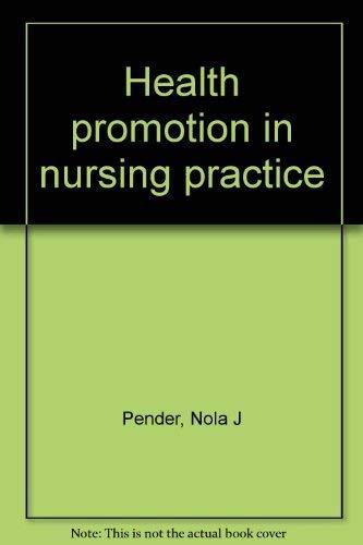 9780838536681: Health promotion in nursing practice
