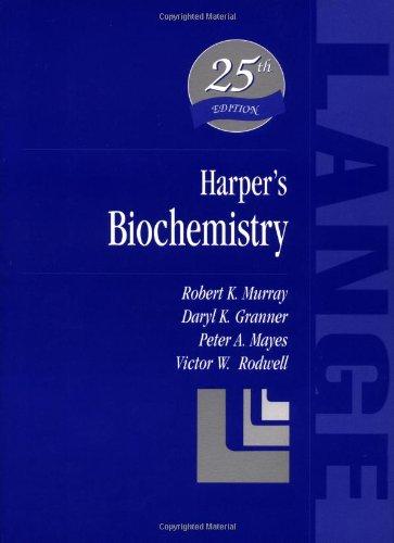 9780838536841: Harper's Biochemistry