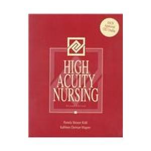 9780838537435: High Acuity Nursing