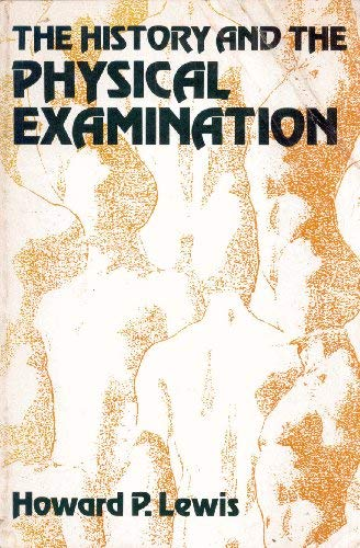 9780838537619: History of the Physical Examination