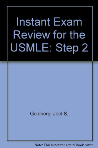 9780838540381: The Instant Exam Review for the Usmle Step 2 (A & L's review series)