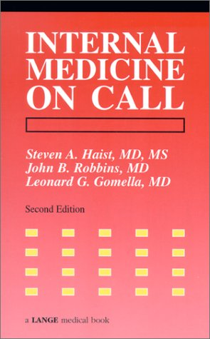 9780838540565: Internal Medicine on Call (Lange Medical Books)