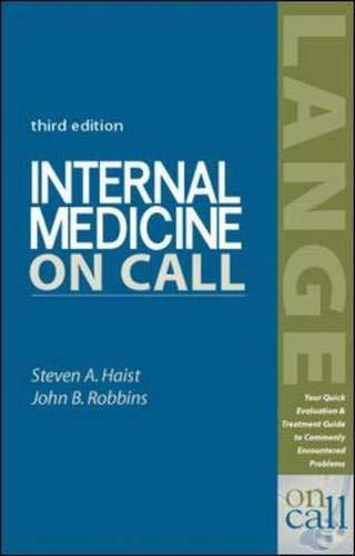 9780838542781: Internal Medicine on Call (On Call Series)