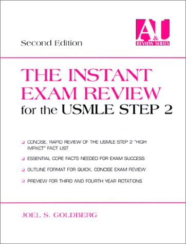 9780838543283: The Instant Exam Review for the USMLE Step 2