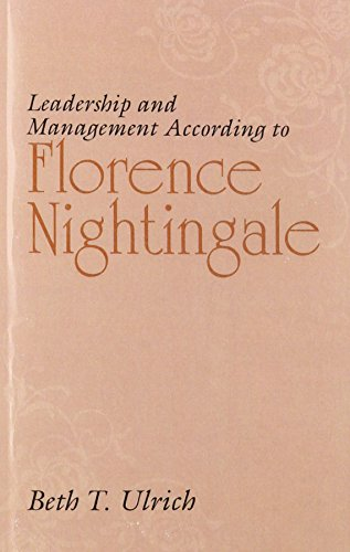 9780838556429: Leadership And Management According To Florence Nightingale