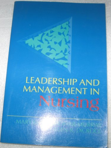 9780838556436: Leadership and Management in Nursing