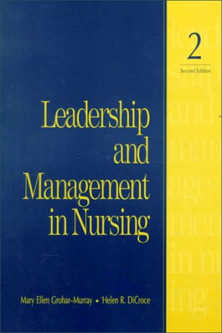 9780838556467: Leadership and Management in Nursing (2nd Edition)