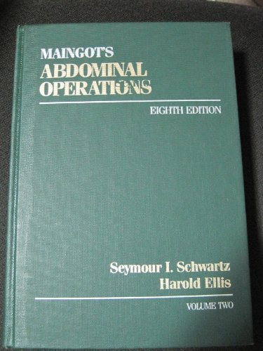9780838560990: Maingot's Abdominal Operations (Volume 2)