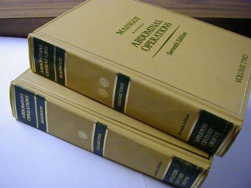9780838561034: Maingot's Abdominal Operations (2 Volume Set)