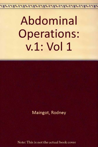 9780838561041: Maingot's Abdominal Operations