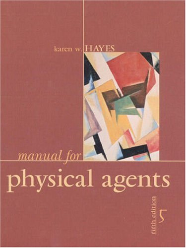 9780838561287: Manual for Physical Agents (5th Edition)
