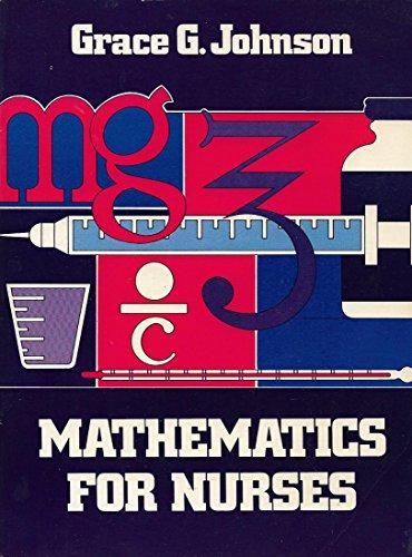9780838561744: Mathematics for nurses