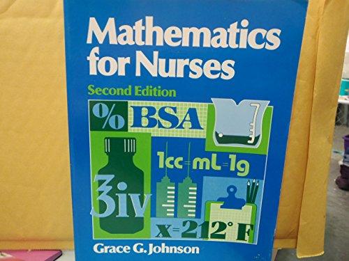 9780838561751: Mathematics for Nurses