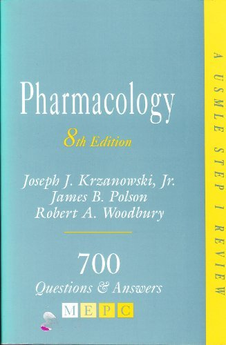 MEPC : Pharmacology 8th Edition.