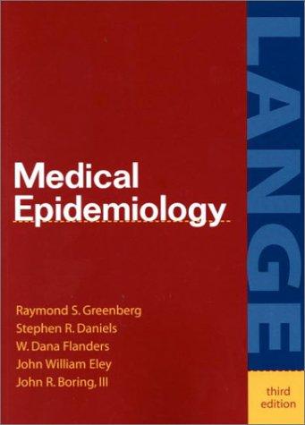 6c1f74b46 9780838562956  Medical Epidemiology (Lange Medical Books) - AbeBooks ...