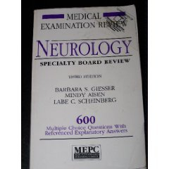 9780838566923: Neurology Specialty Board Review: 600 Multiple Choice Questions With Referenced Explanatory Answers (Medical Examination Review)