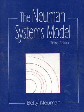 The Neuman systems model: Neuman, Betty M.