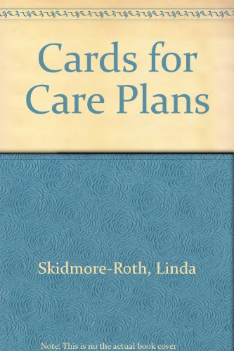 9780838570081: Cards for Care Plans