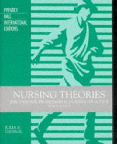 9780838570531: Nursing Theories: The Base for Professional Nursing Practice