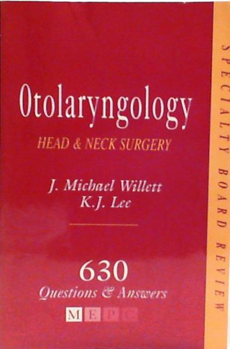 9780838575802: Otolaryngology: 630 Questions and Answers