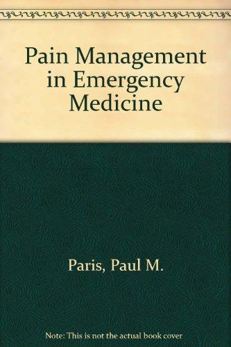 9780838576953: Pain Management in Emergency Medicine
