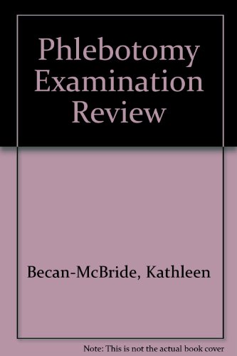9780838577073: Phlebotomy Examination Review