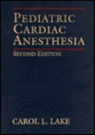 9780838578124: Pediatric Cardiac Anesthesia