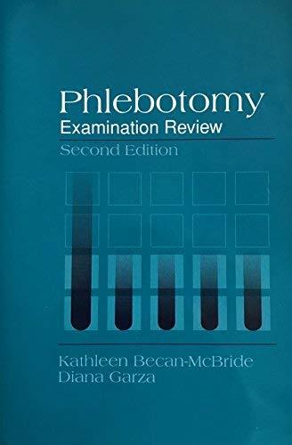9780838578285: Phlebotomy Examination Review