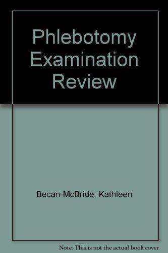 9780838578292: Phlebotomy Examination Review
