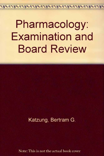 9780838578360: Pharmacology: Examination and Board Review