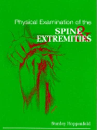 9780838578537: Physical Examination of the Spine and Extremities