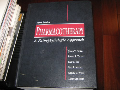 9780838578926: Pharmacotherapy: A Pathophysiologic Approach