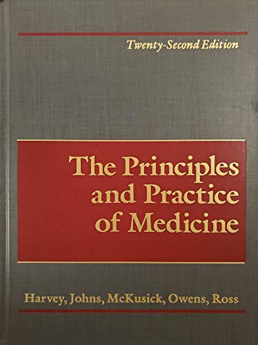 The Principles and Practice of Medicine: Harvey, A. McGehee