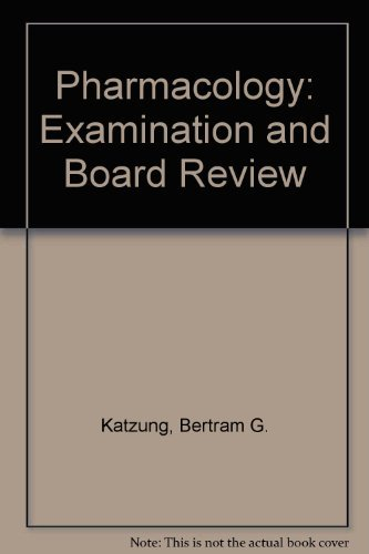 9780838579954: Pharmacology: Examination and Board Review