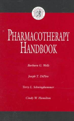 9780838581407: Pharmacotherapy Handbook