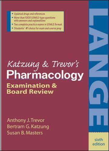 9780838581476: Katzung's Pharmacology: Examination and Board Review