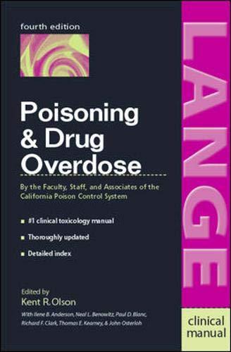 9780838581728: Poisoning & Drug Overdose